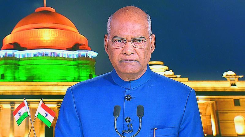 President Ram Nath Kovind (Photo: PTI)