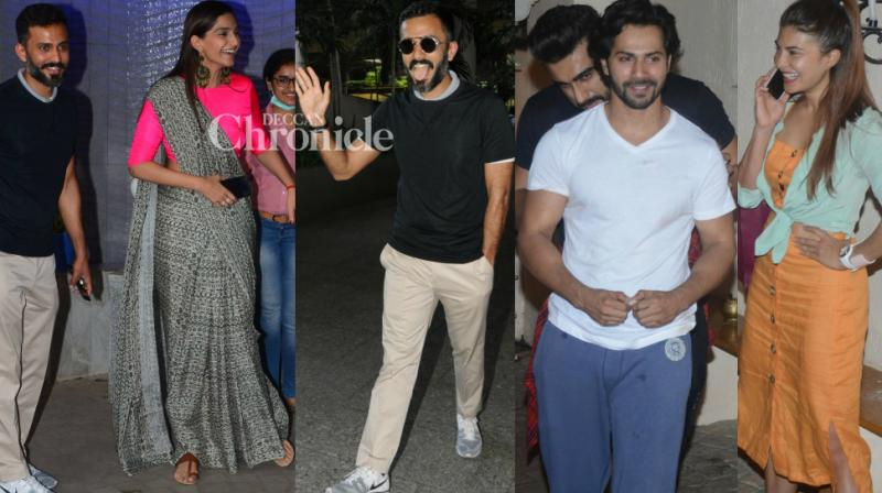 The shutterbugs had a busy Friday largely due to the impending wedding of Sonam Kapoor, but managed to capture other celebrities in Mumbai as well. (Photo: Viral Bhayani)