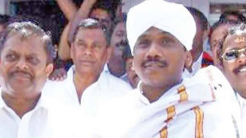 In the 2014 Lok Sabha polls Mr.Raja was defeated by a margin of over one lakh votes.  (File photo)