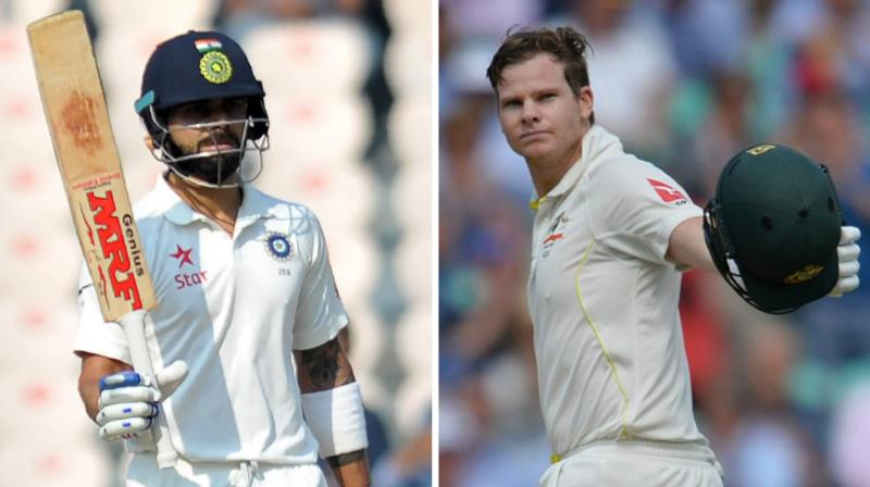 Image result for virat kohli and smith