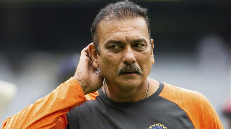 Glowing in his praise, Shastri repeated what he has often said about the skipper, his passion and ability to lead from the front. (Photo: AP)