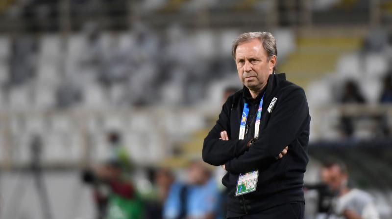 Rajevac, who took Ghana to the quarter-finals of the 2010 World Cup in South Africa after stints in Qatar and Algeria, was appointed Thailand head coach in April 2017. He then signed for a two-year contract extension in February last year. (Photo: AFP)