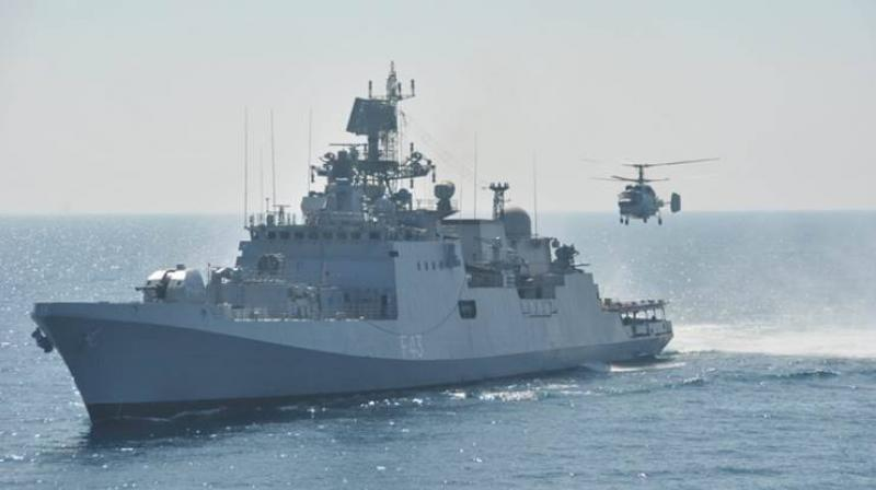 Indian Navy deploys warship in South China Sea after Galwan clash - Deccan Chronicle