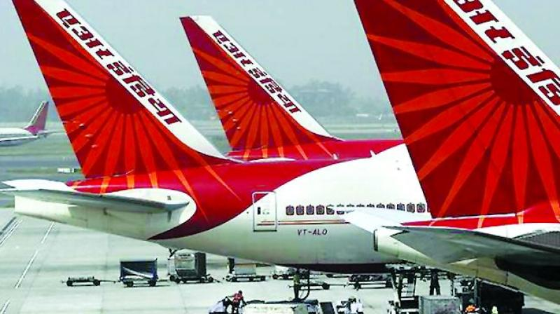 Air India air hostess falls off plane, suffers injuries
