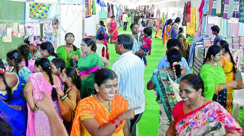 Dwcra Bazaar Gives Shgs Chance To Shine