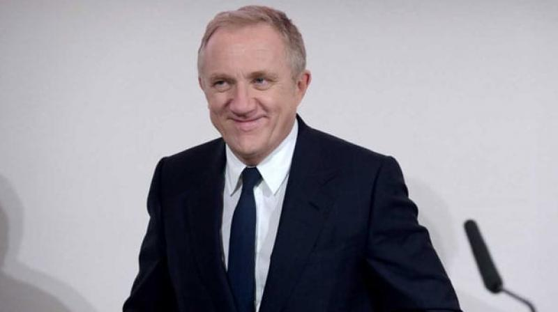 Francois-Henri Pinault is the CEO of the Kering group, which owns Gucci and Yves Saint Laurent. (Photo: AFP)