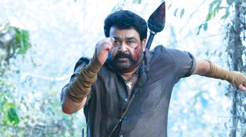 A still form the film Pulimurugan.