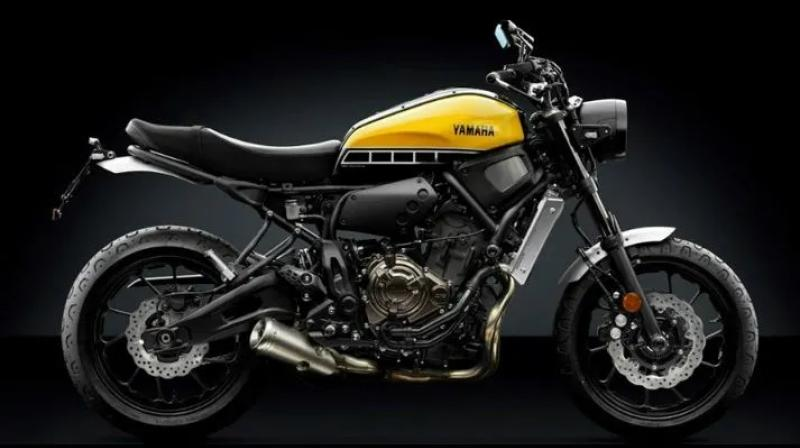 Yamaha XSR250 would be part of Yamaha's XSR Heritage lineup consisting of XSR155 and XSR900.