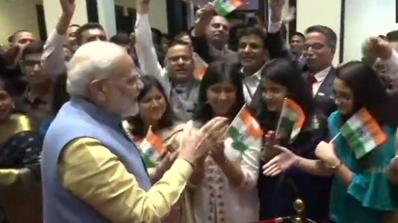 This is Modi's second visit to the Himalayan nation and first since his re-election as Prime Minister. (Photo: ANI)