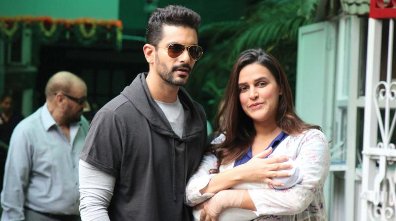 Image result for neha dhupia daughter