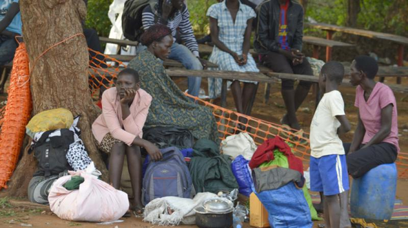 Uganda currently hosts more than 832,000 refugees from South Sudan, including over 270,000 in the Bidibidi refugee camp which in eight months has gone from an empty patch of land to the world's biggest refugee camp. (Photo: Representational/AP)