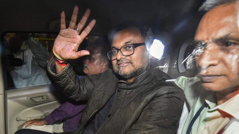 Delhi High Court to hear Karti's plea against ED on Friday
