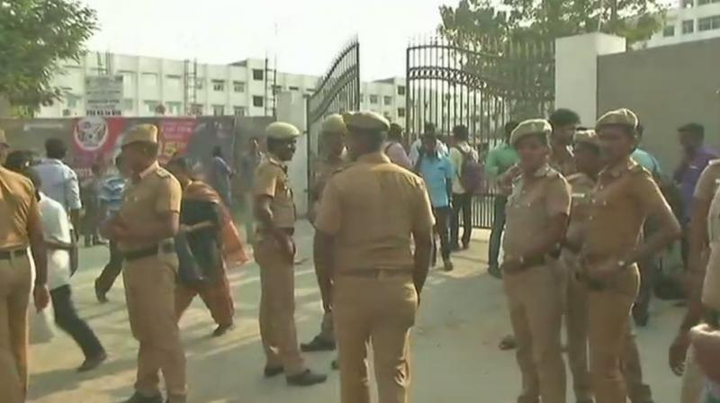 Student stabbed to death outside Chennai's Meenakshi College Of Engineering