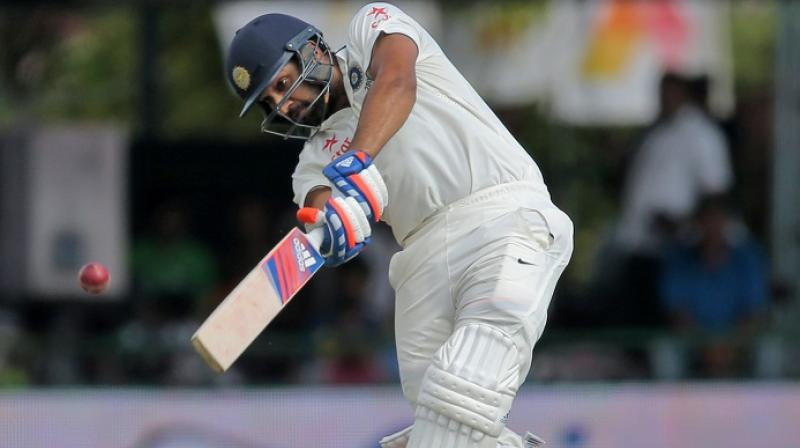 Rohit Sharma, who last played a Test match against New Zealand in October last year, did not feature in the Test series against England, Bangladesh and Australia during the home season. (Photo: AP)
