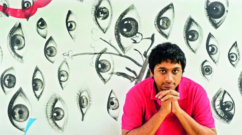 'Life's magical, and what makes it magical is art,' begins multidisciplinary New York-based Bengaluru-born artist Raghava K.K. (Photo: DC)