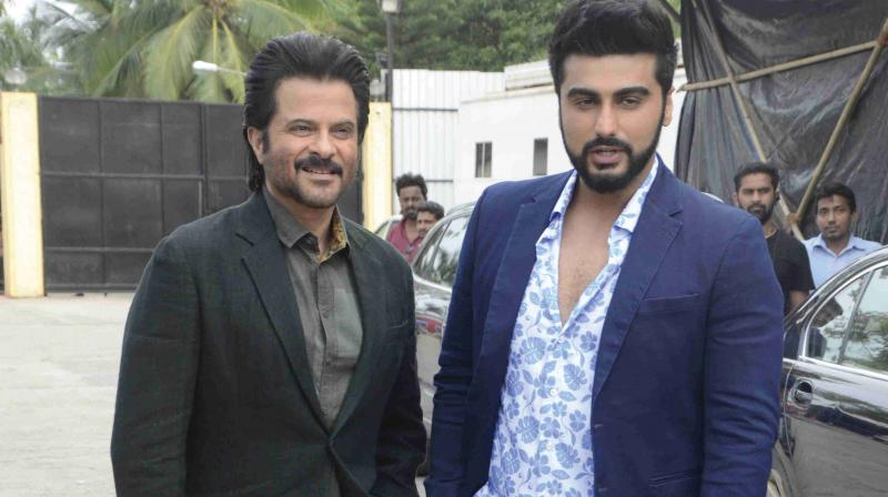 Anil and Arjun make a fabulous pair, and their real-life relationship has prompted the makers to make this choice. (Photo: DC)