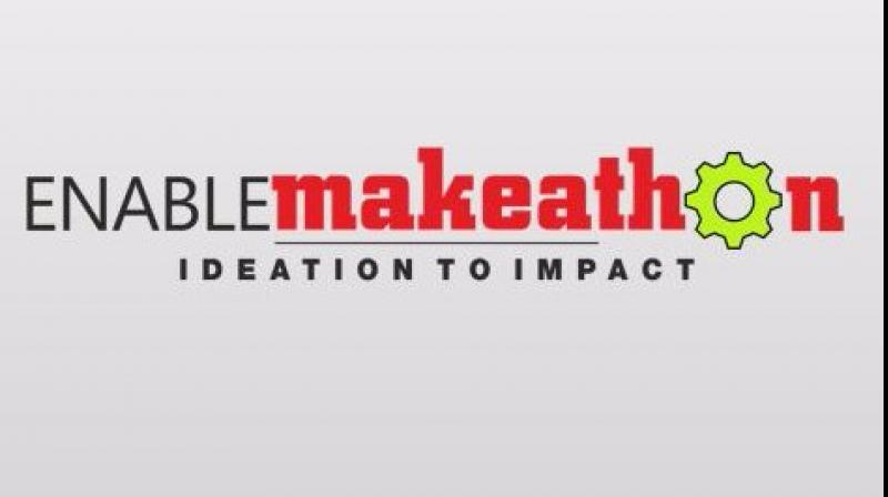 Engineers, technocrats, innovators, students and differently abled people shared a common platform, as part of Enable Makeathon 2.0.