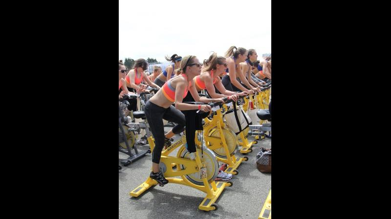 Spin classes could increase risk of kidney damage. (Photo: Pixabay)