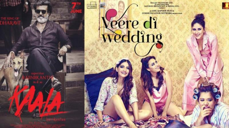 'Kaala', 'Veere Di Wedding' poster.