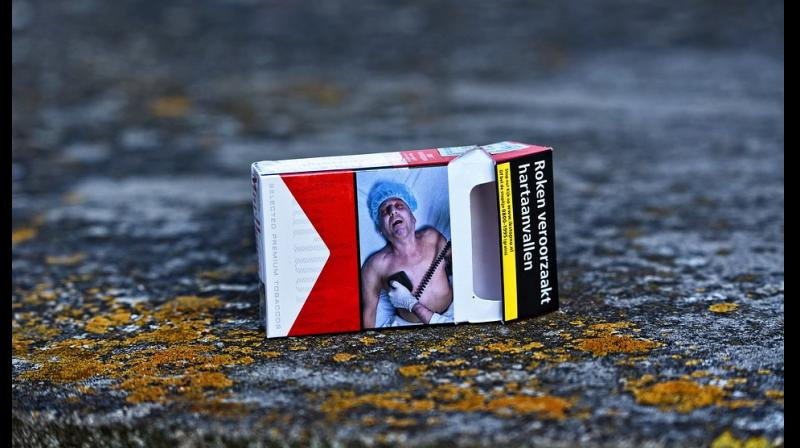 Cigarette pictorial warning labels most effective way to get people to quit smoking. (Photo: Pixabay)