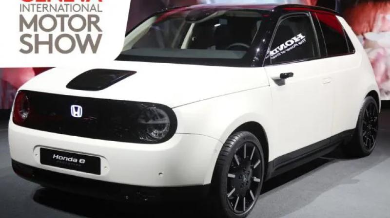 All-electric hatchback is set to hit the production line later this year.