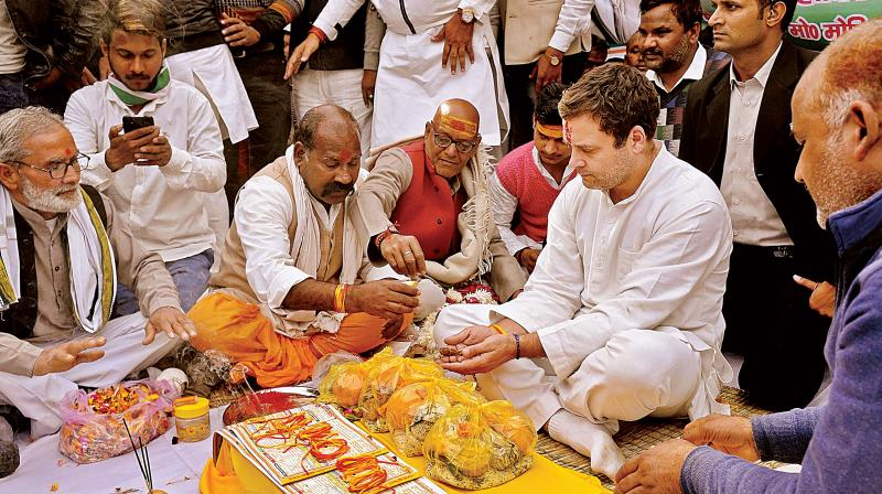 Grand welcome awaits Congress President Rahul Gandhi in Amethi, Lucknow