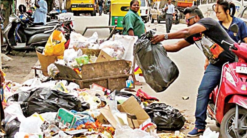 The civic body made it clear in February last year that it expected  Bengalureans to segregate garbage at source and even threatened to slap fines on those who did not fall in line.