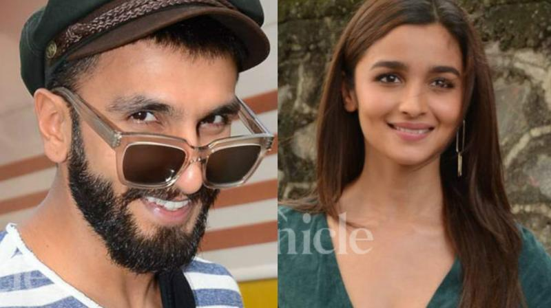 Ranveer and Alia all set to work together in a movie project.