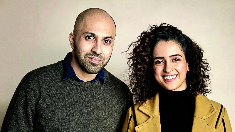Ritesh Batra and Sanya Malhotra.