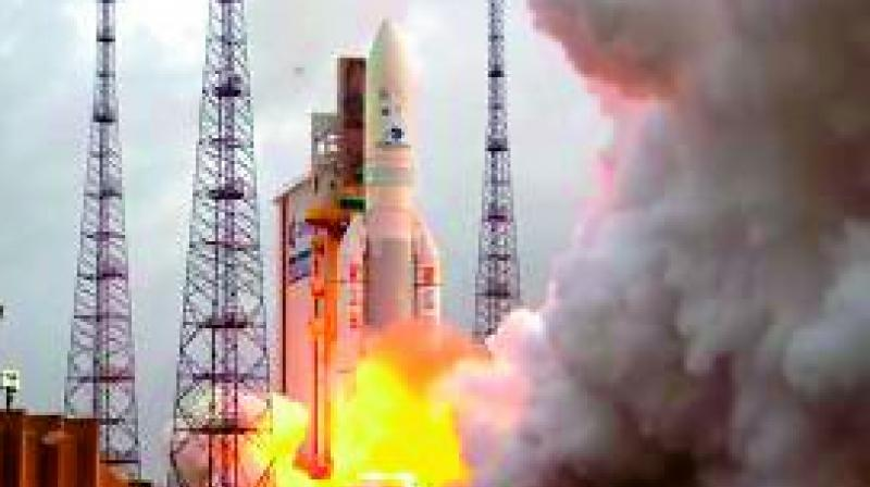 GSAT-11, launched from European Space Agency's spaceport in French Guiana on Wednesday.