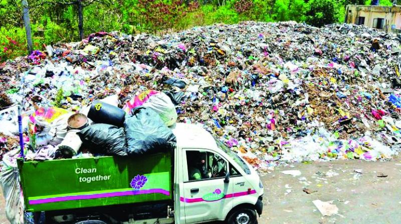 Of the waste, nearly 40 per cent is used for generating RDF, which is produced from various types of wastes, including municipal solid waste.