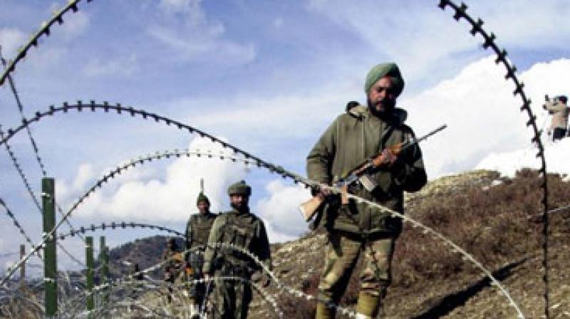 The report also noted that one of the launch pads was located just opposite the BSF border outpost at Paharpur in Kathua's Hiranagar sector.  (Photo: PTI)