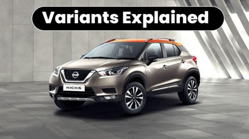 Nissan Kicks Variants Explained Xl Xv Xv Premium Xv Premium