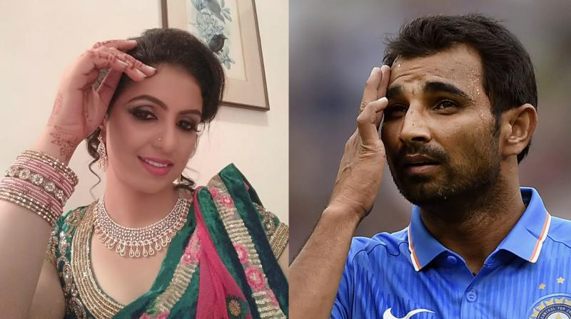 Married to Mohammed Shami since 2014, Hasin Jahan reportedly claimed that the bowler is having several extra-marital affairs simultaneously. (Photo: Facebook / AP)