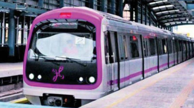 Bengaluru Metro receives three new coaches
