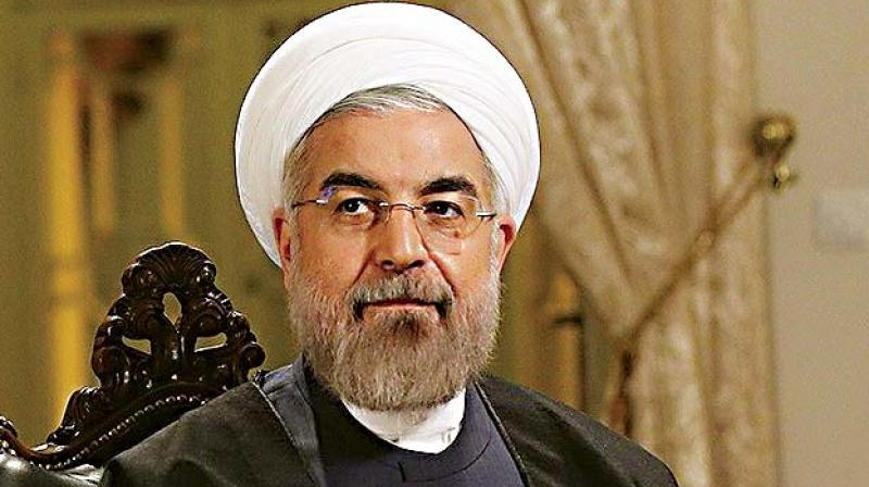 Iran President Hassan Rouhani arrives in Hyderabad on 3-day India visit