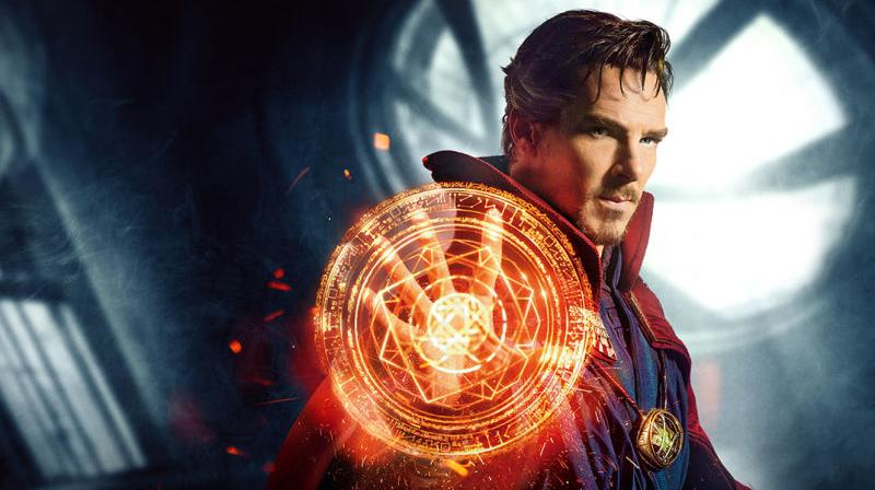 A still from the movie Doctor Strange
