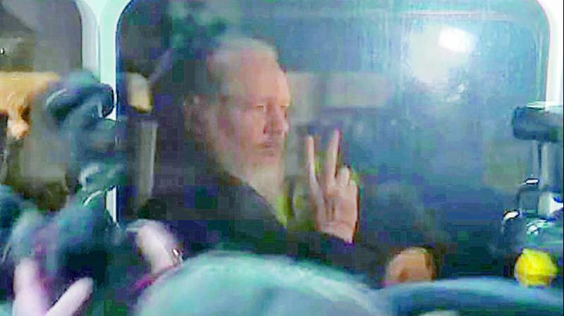 Assange Sentenced To 50 Weeks For Jumping Bail
