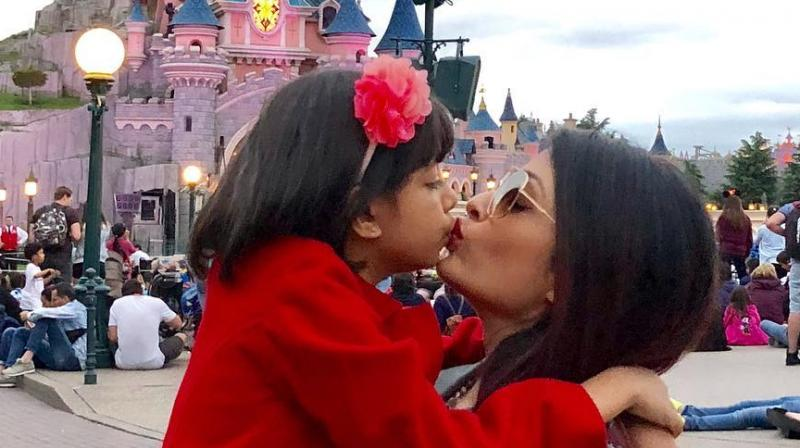 Aishwarya Rai Bachchan's latest Instagram post with Aaradhya.