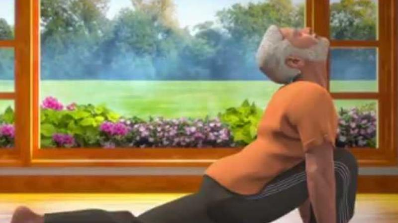Have You Made Surya Namaskar Part Of Your Routine Pm Shares New Yoga Video