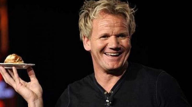 Apparently, Ramsay's wife took charge of getting the 'notoriously bossy chef' into shape. (Photo: AP)