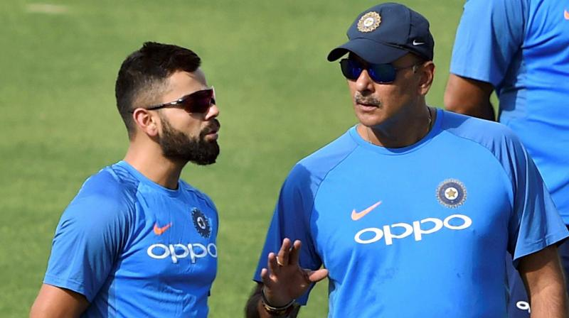 Ravi Shastri, Virat Kohli and how 2 strong-minded people don't believe in  timepass