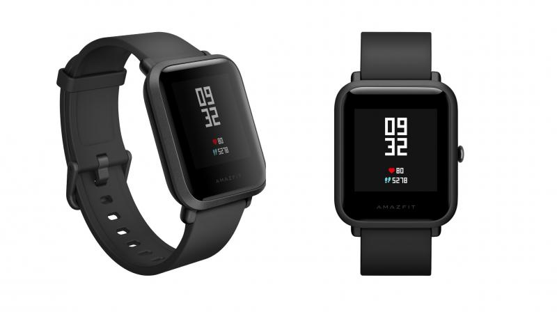 Xiaomi's new Smartwearable – the Amazft Bip Watch.