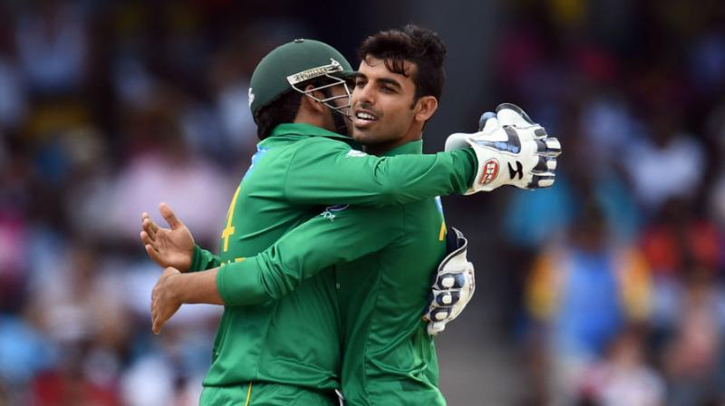 Leg-spinner Shadab Khan admitted that the bowling department of Pakistan is not up to the mark in the ongoing One-Day International series against England.  (Photo: AFP)