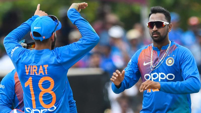 The 28-year-old, who was also adjudged man-of-the-match, said the wicket aided spinners and performances like these help boost the confidence. (Photo: AFP)