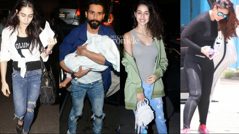 Bollywood stars impressed with their style statement as they stepped out for various reasons on Monday. (Photo: Viral Bhayani)