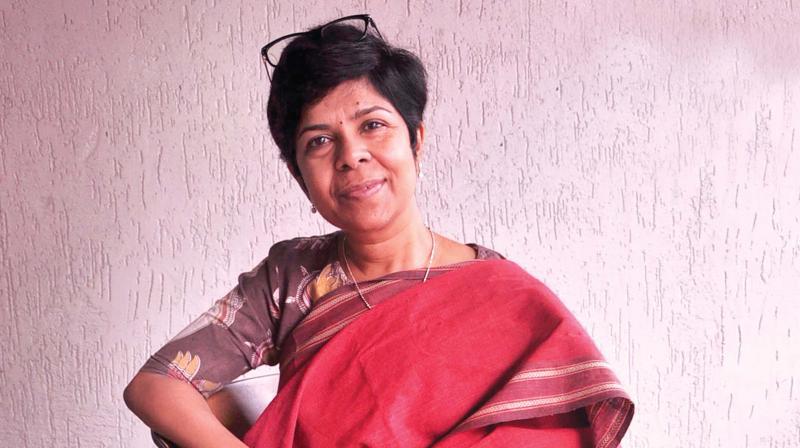 Bindu S. Nair (Photo: Vinod karimatt)