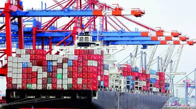 The US government had announced on August 15 that it will impose additional tariffs of 10 per cent on Chinese goods worth about $300 billion effective on September 1 and December 15, respectively, in two batches.