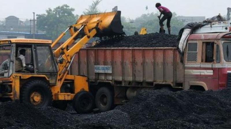 India's coal import fell by 9 per cent to 17.32 million tonnes (MT) in April on the back of ample supply of dry fuel from domestic sources.