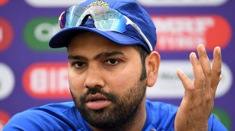 The 32-year-old Rohit Sharma said that as youngsters they have to try to learn things. (Photo: AFP)
